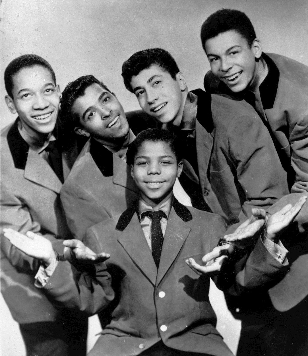 Frankie Lymon and The Teenagers publicity photo, March 3, 1956