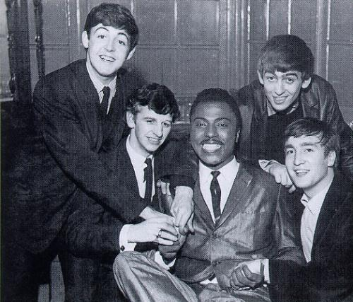 Little Richard with the Beatles, 1963