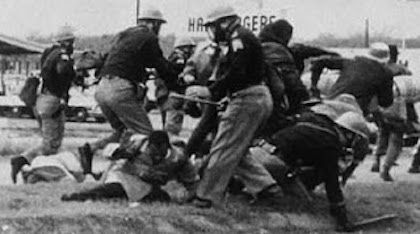Alabama State Troopers Attack John Lewis at the Edmund Pettus Bridge
