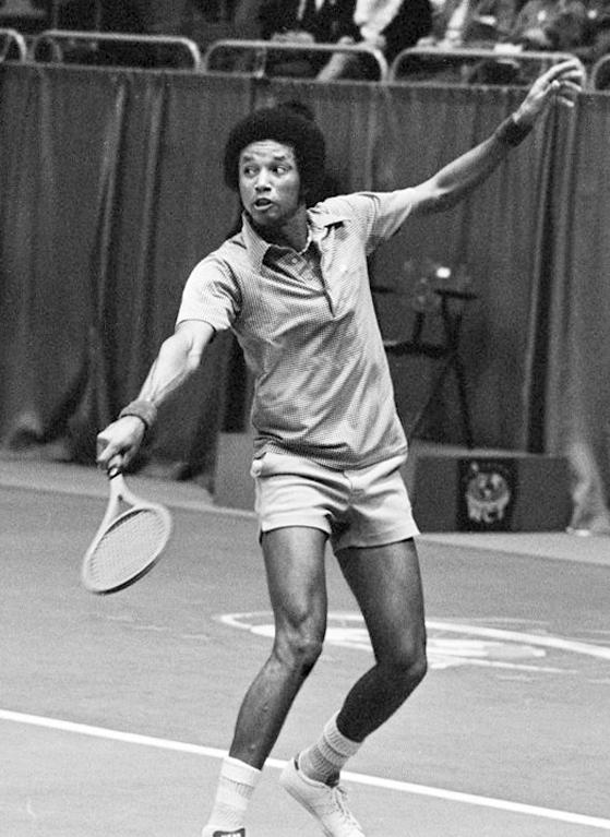 Arthur Ashe, World Tennis Tournament, Rotterdam, 1975