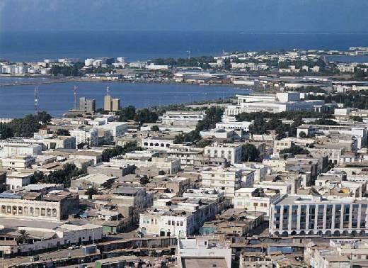 Djibouti City, Republic of Djibouti (1888- ) •
