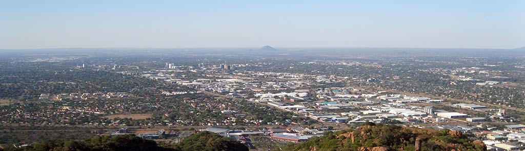 Kgale Hill Overlooking the City of Gaborone