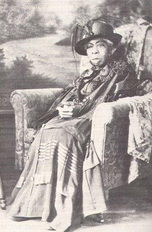 Mary Jane Shipley Drake, ca. 1924, Former Enslaved Oregonian and Widow of Reuben Shipley