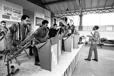 Muhal Richard Adams Conducting the AACM Big Band, 1965