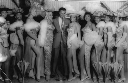 Roy Hamilton and Chorus Girls as Part of the Idlewild Revue