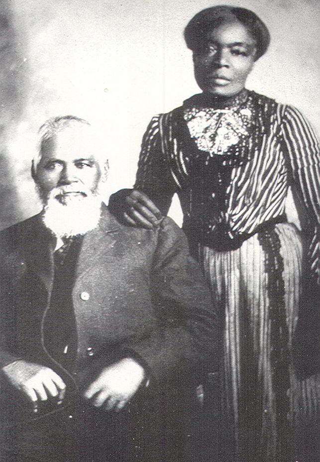 Samuel and Amanda Chambers, 19th Century Mormon Couple