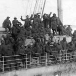 369th Infantry arriving home on the France