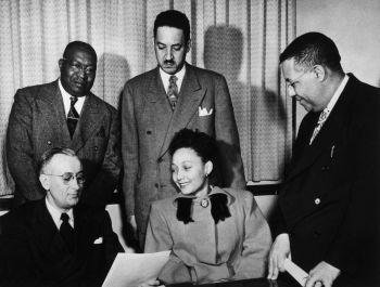 Thurgood Marshall and Ada Lois Sipuel