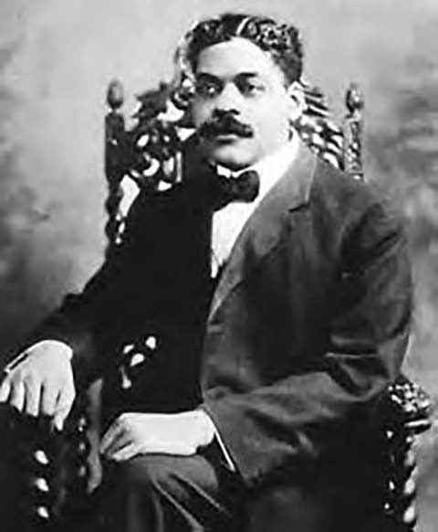 Arturo Alfonso Schomburg, ca. 1910