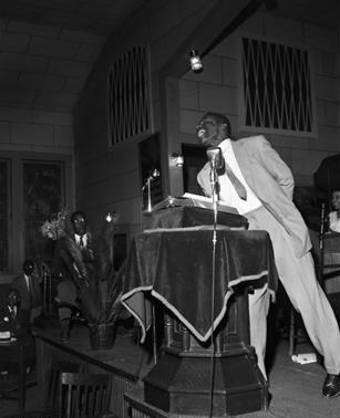 Rev. Fred Shuttlesworth, Alabama Christian Movement for Human Rights' founding, Birmingham, 1956