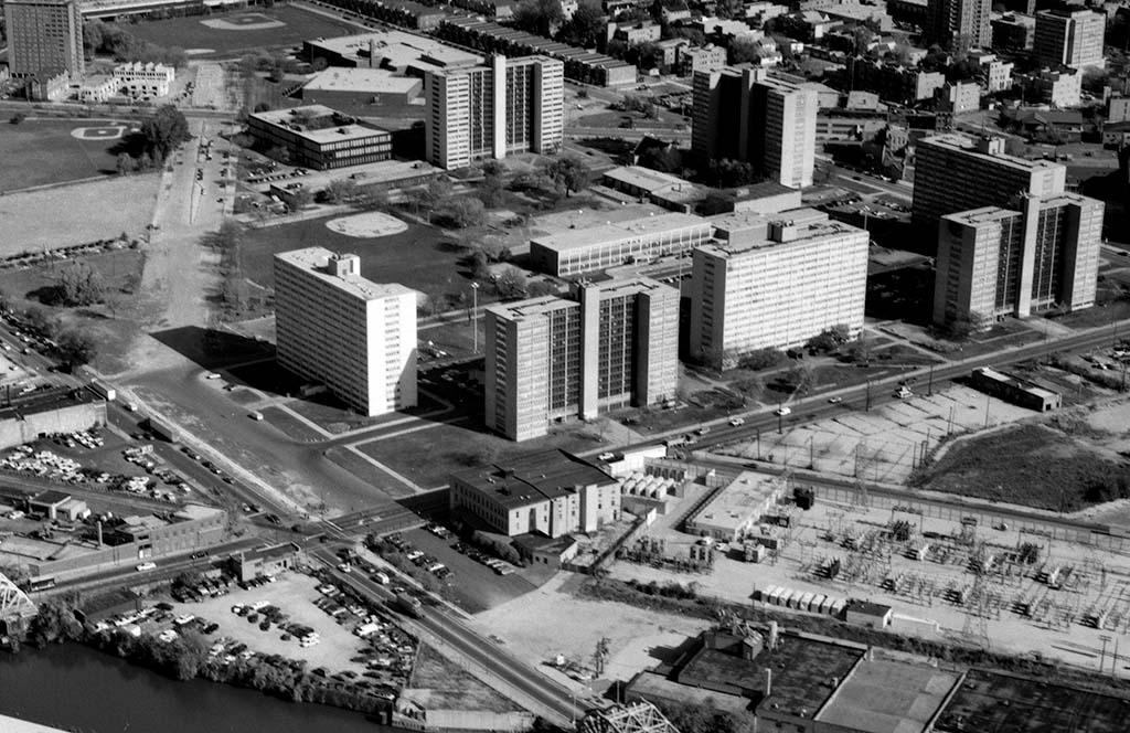 Cabrini Green Housing Project Chicago Illinois 1942 2009