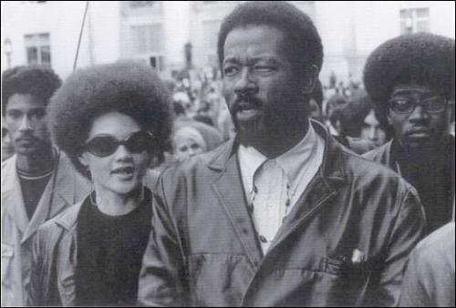 Kathleen and Eldridge Cleaver