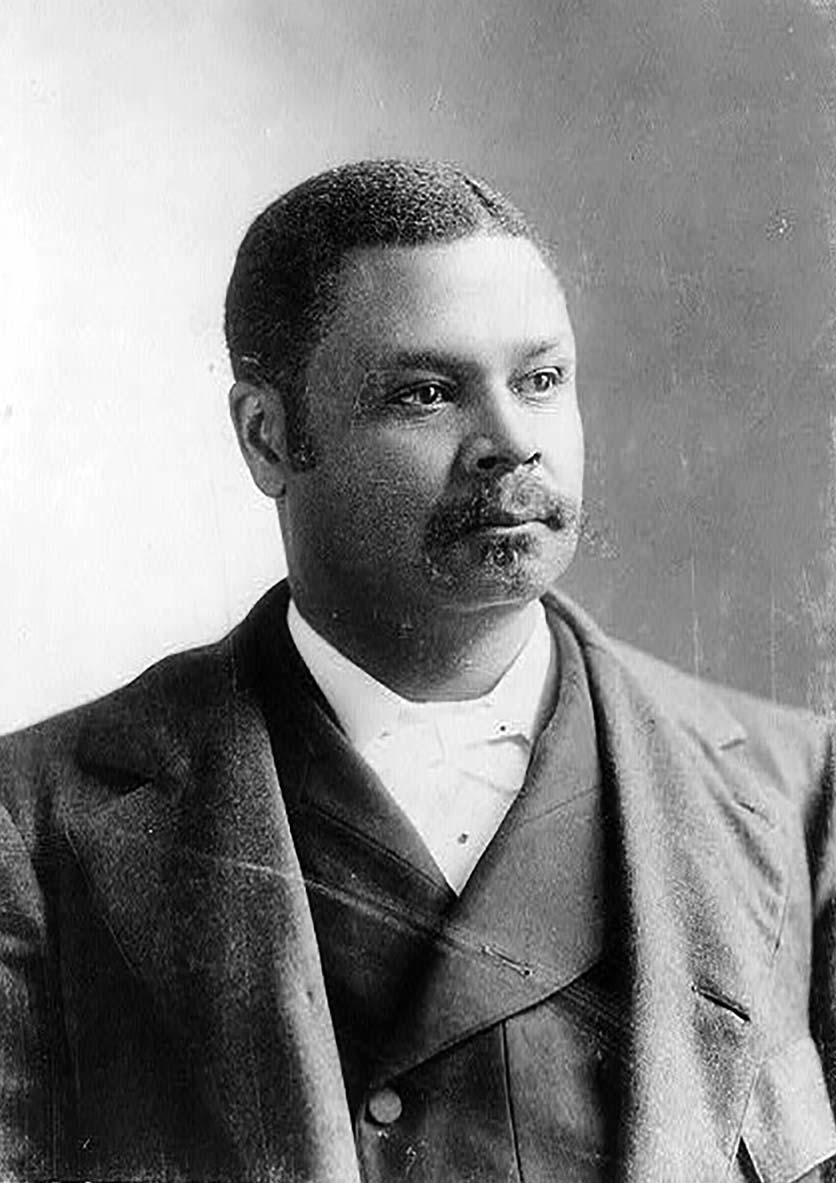 Congressman George Henry White, ca. 1900