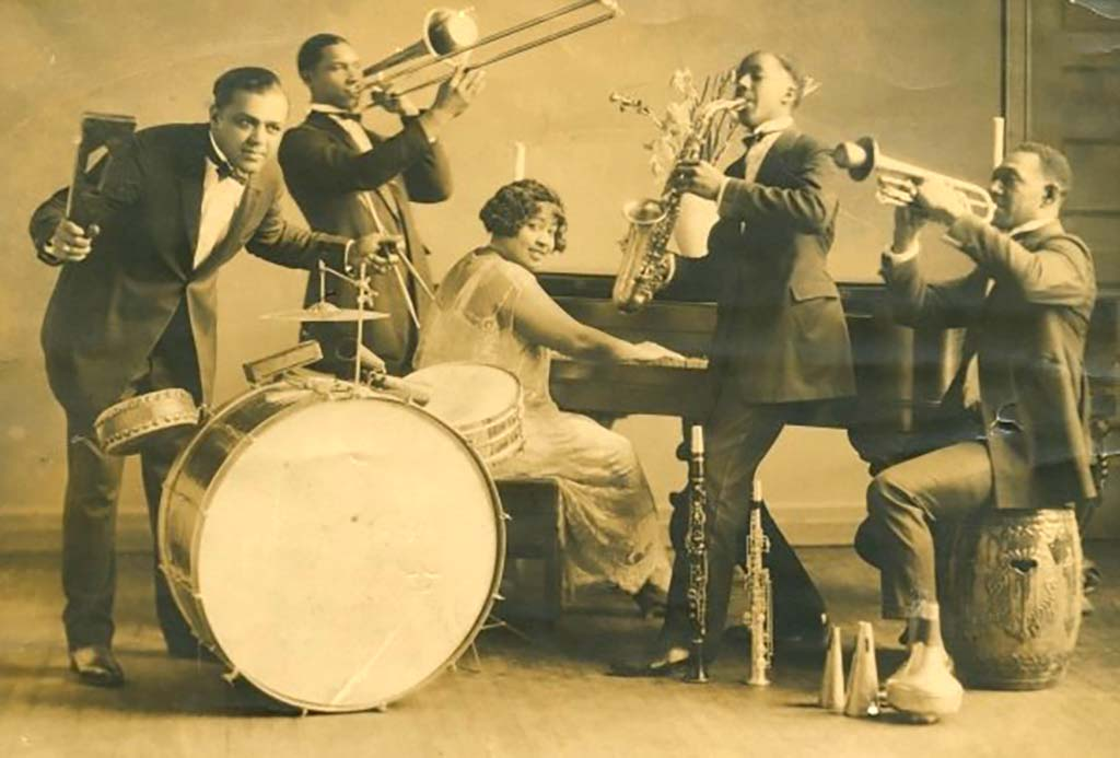 Edythe Turnham and Her Knights of Syncopation, Seattle, 1925