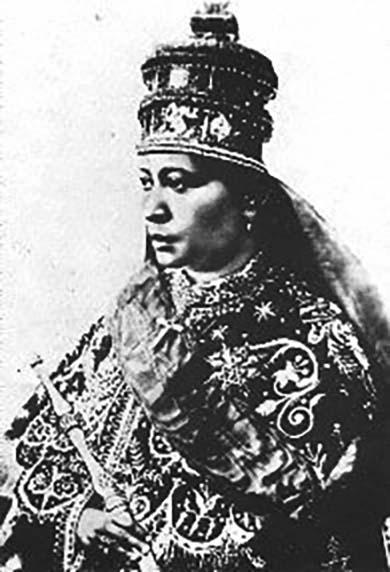 Empress Zewditu