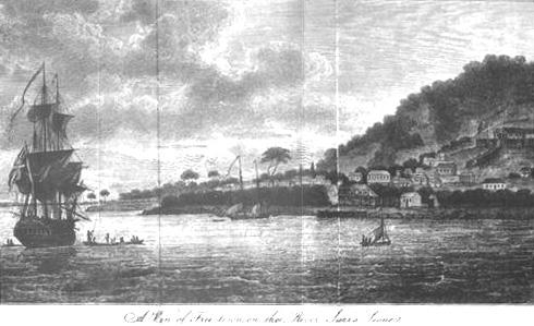 Freetown, Sierra Leone, 1803