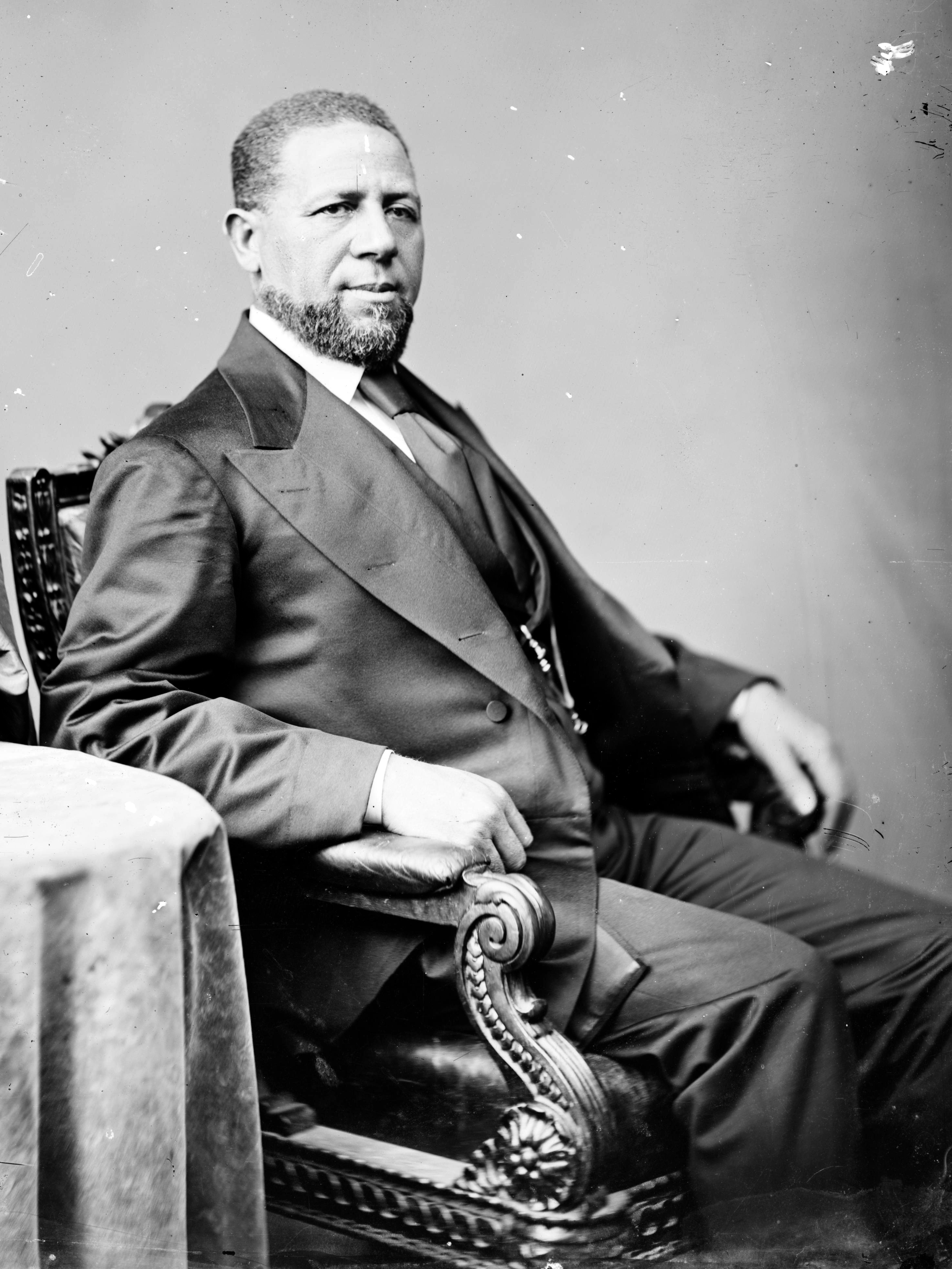 Hiram Rhoades Revels, First Black U.S. Senator