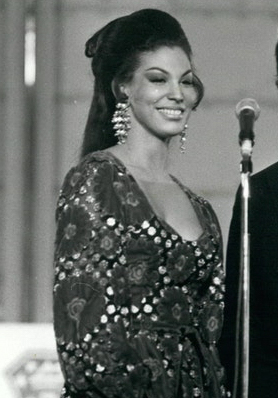 Jennifer Hosten Winning the Miss World Contest, 1970