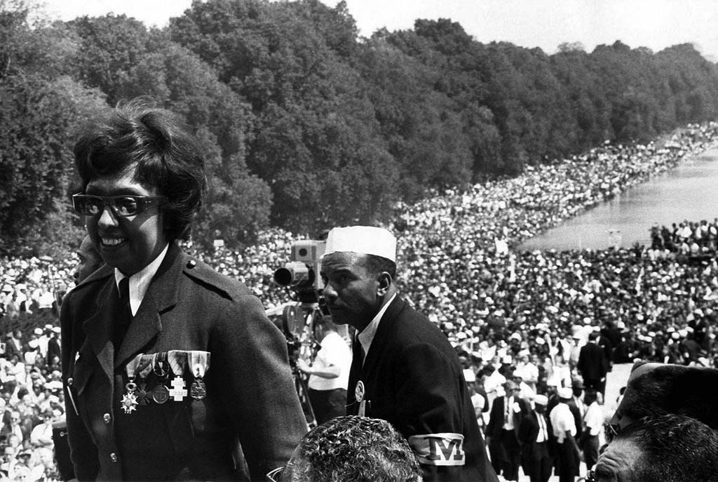 Josephine Baker, March on Washington, 1963
