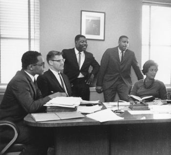 NAACP Legal Defense Fund Attorneys, 1962