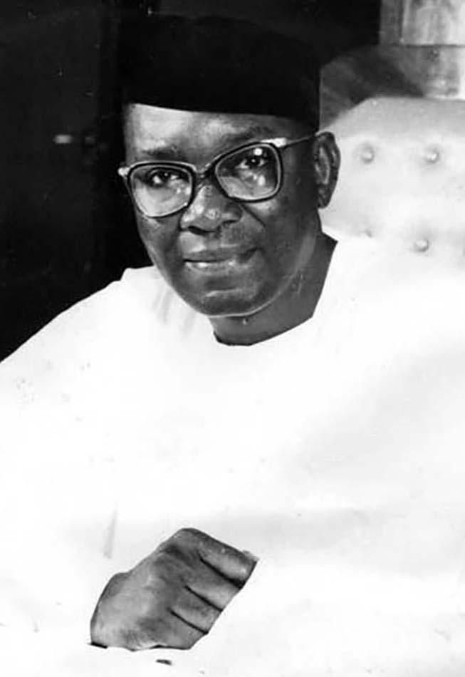 """Benjamin Nnamdi """"Zik"""" Azikiwe (1904-1996)"""