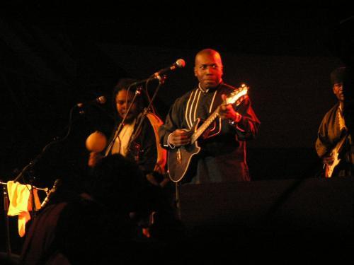 Andy Palacio and Band