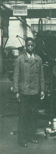 Robert Robinson in a Soviet Factory, ca. 1935