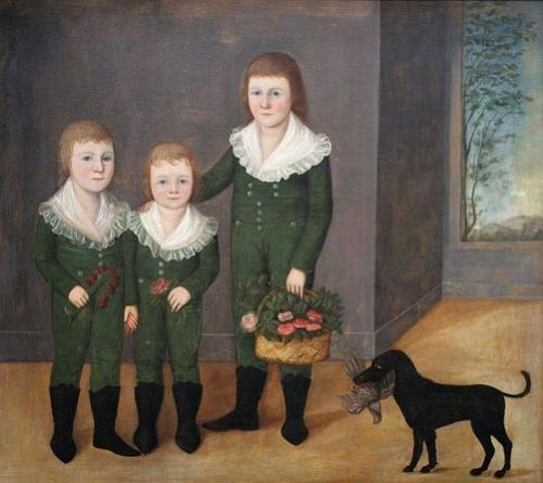 The Westwood Children, ca. 1807