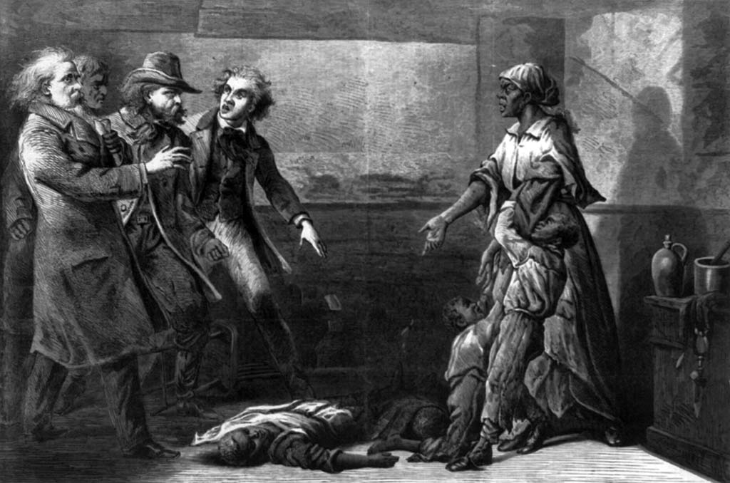 Margaret Garner Kills Her Children, 1867 Engraving