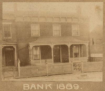 True Reformers Bank, 1889