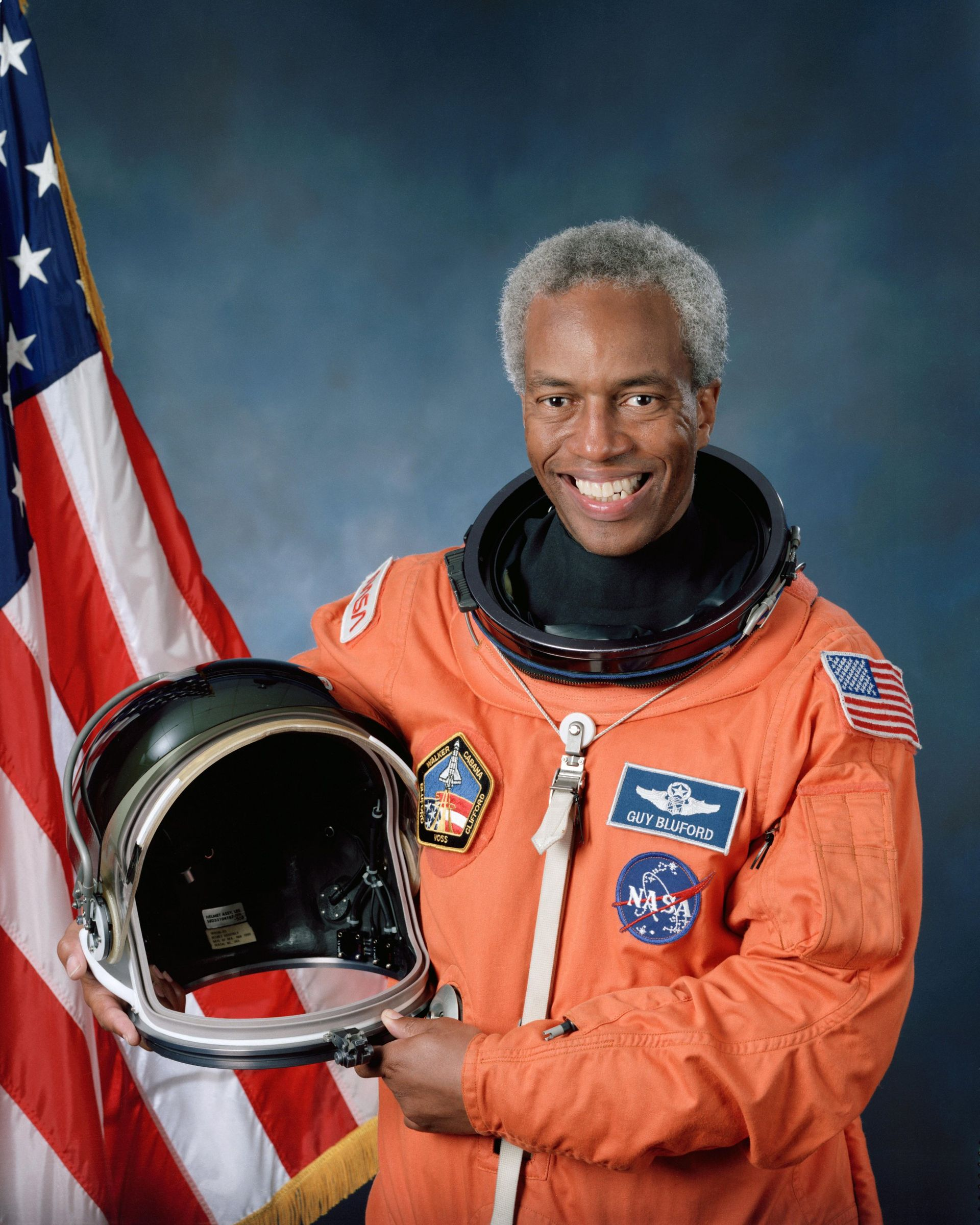 Astronaut Guion S. Bluford. Bluford, October 13, 1992