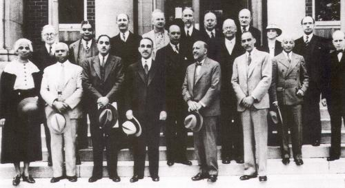 W.E.B. Du Bois and the Editorial and Advisory Boards of the Encyclopedia of the Negro, 1936