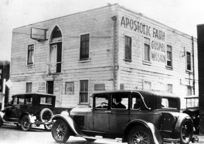 Apostolic Faith Mission, Azusa Street, Los Angeles, 1907