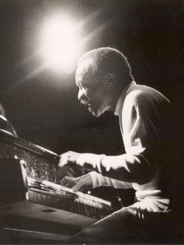 Cecil Taylor playing piano