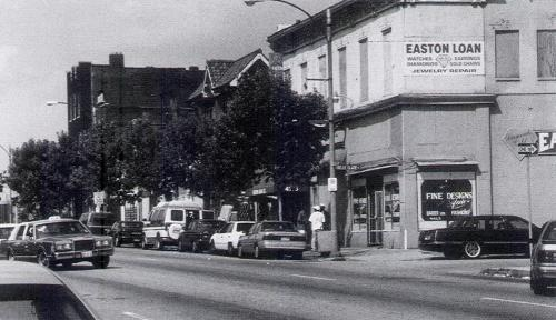 Dr. Martin Luther King Drive in the Ville, ca. 1990