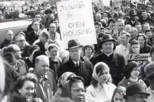 Open Housing Demonstration, Downtown Seattle, 1964