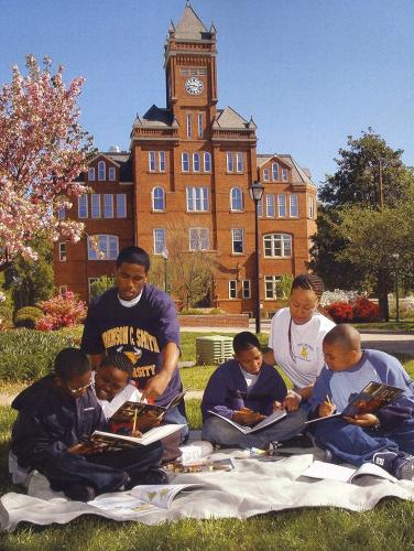 Students at Johnson C. Smith University, 2007