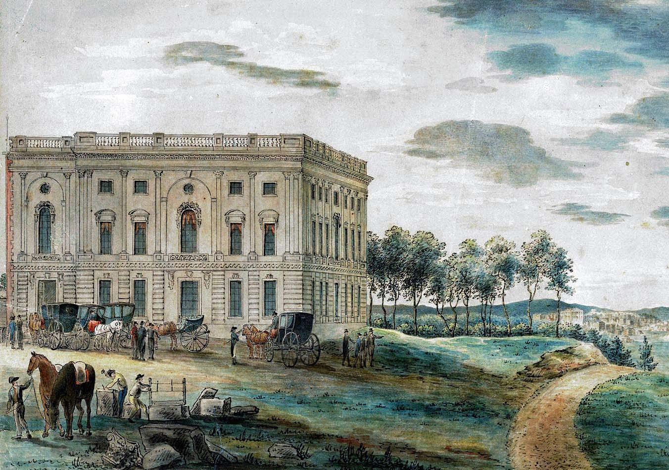 United States Capitol, 1800