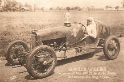 Charlie Wiggins, Indianapolis, Aug. 7, 1926